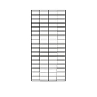 Gridmesh Panel 1500x600mm (Black)