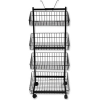 4 Basket Stand (Black)