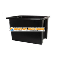 68L Stack & Nest Crate Tub - Recycled
