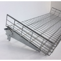 Wall Strip Wire Basket With Bracket Set - Chrome