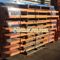 Colby Pallet Racking Open Beams 2590mm L x 76mm H - Used