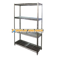 Coolroom Rivet Shelving Bays