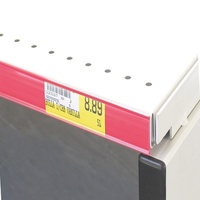 Flat Data Strip Red 1200mm x 26mm