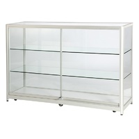 Kit Form Retail Glass Counter 1800mm GA106K