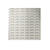 Metal Louvre Panels For Plastic Parts Bins