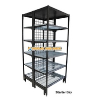 Outrigger Double Sided Grocery Shelving Bays
