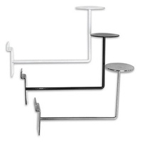Slatwall Hat Display Bracket - Chrome