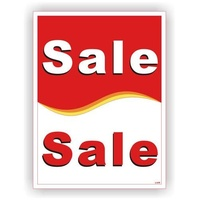 Extra Large Sale Sale Display Card - 1000x750mm