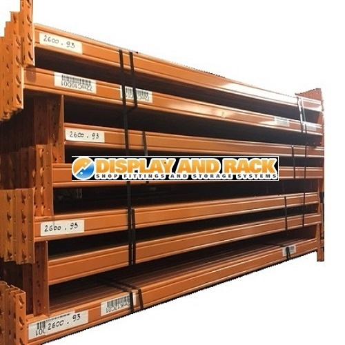 Colby Pallet Racking Box Beams 2740mm L x 110mm H - Used