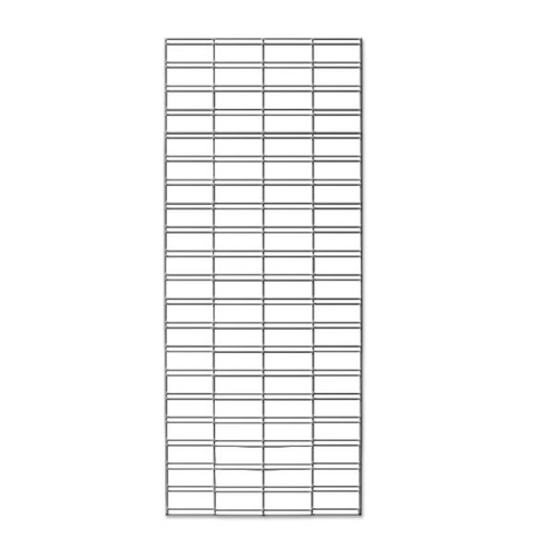 Slat Mesh Panel 1800mm x 600mm - Chrome
